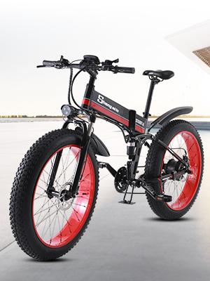 Sheng mi lo Bicicleta eléctrica 48V 1000W para Hombre Montaña ...