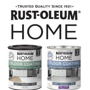 Rust-Oleum Home, Floor Coating, Quart, Two-Step, Floor Paint, Kitchen Floor, Bathroom Floor