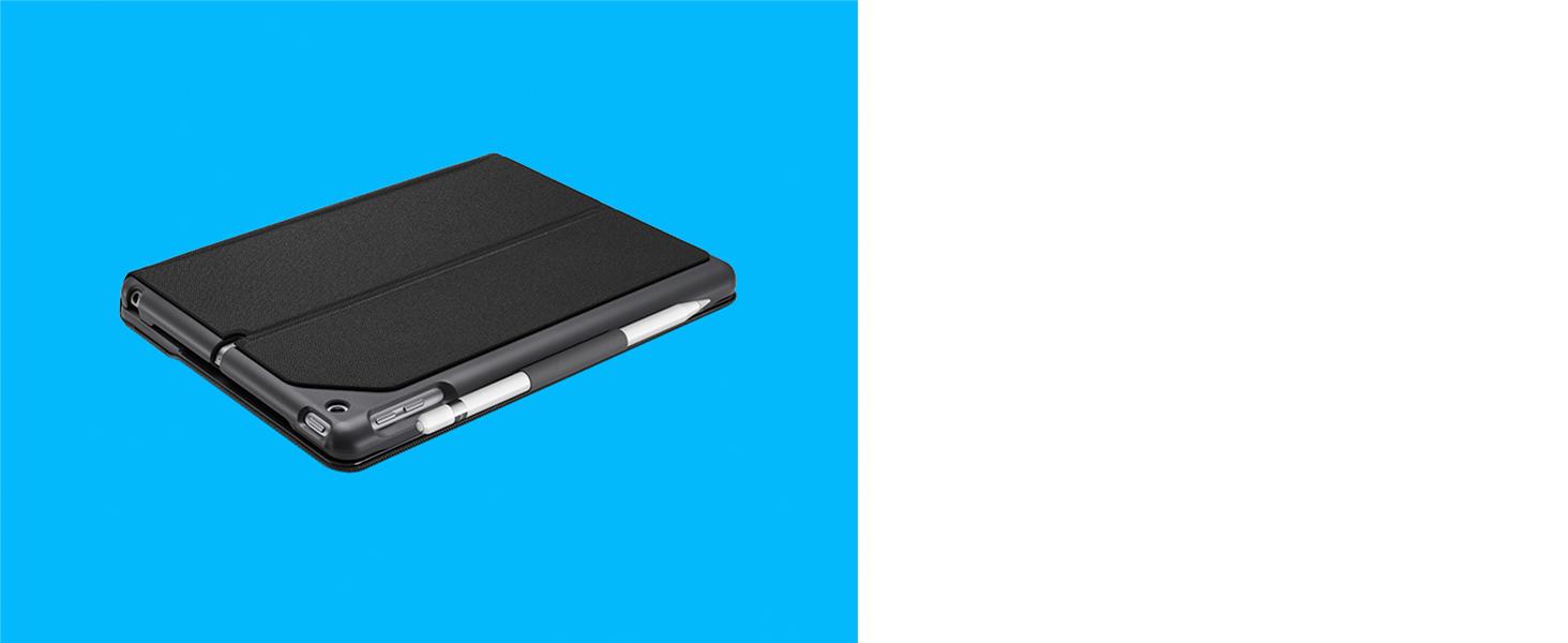 Logitech Slim Folio Funda teclado inalámbrico Bluetooth iPad Español QWERTY Negro