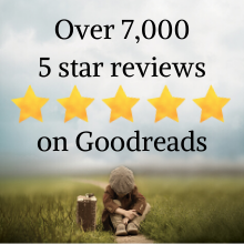 Over 7,000 5 star reviews on Goodreads