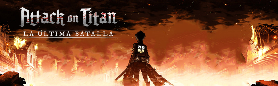 Edge Entertainment Attack on Titan La última Batalla (EEDPAT01): Amazon.es: Juguetes y juegos