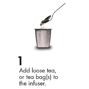 add loose leaf tea