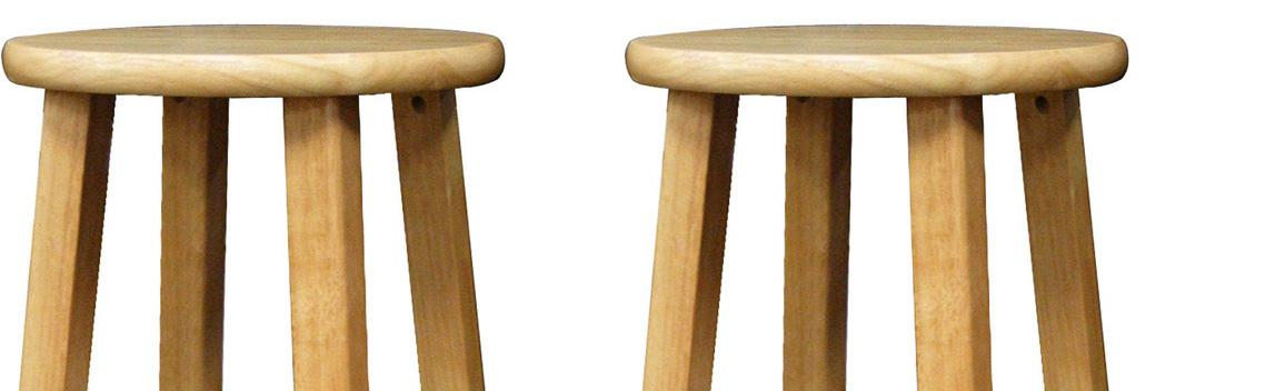 Winsome Wood 29 Inch Square Leg Barstool With Natural