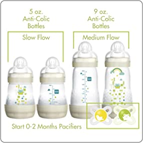 Amazon.com : MAM Gift Set, Best Pacifiers and Baby Bottles ...