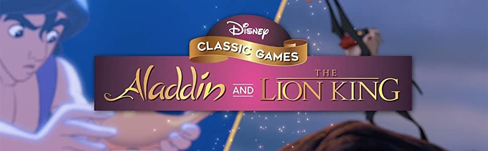 Disney Classic Games Aladdin The Lion King