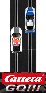 Carrera GO!!! Electric Slot Car Racing Track System Set 1:43 Scale for Kids