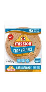 Amazon.com: Mission Carb Balance Soft Taco Flour Tortillas