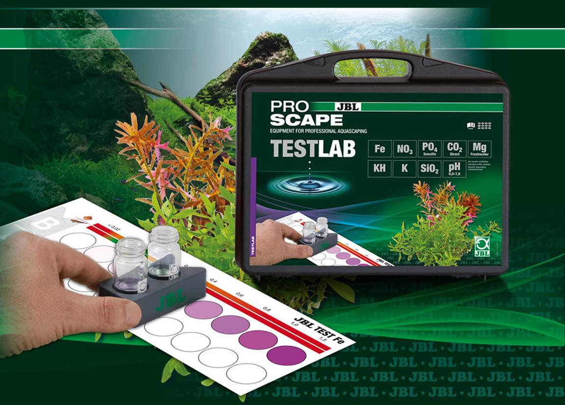 jbl testlab proscape 25511 testkoffer zur analyse des wasser in bepflanzten aquarien. Black Bedroom Furniture Sets. Home Design Ideas