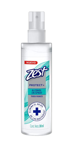 ZEST ALCOHOL ANTIBACTERIAL EN SPRAY 300ML