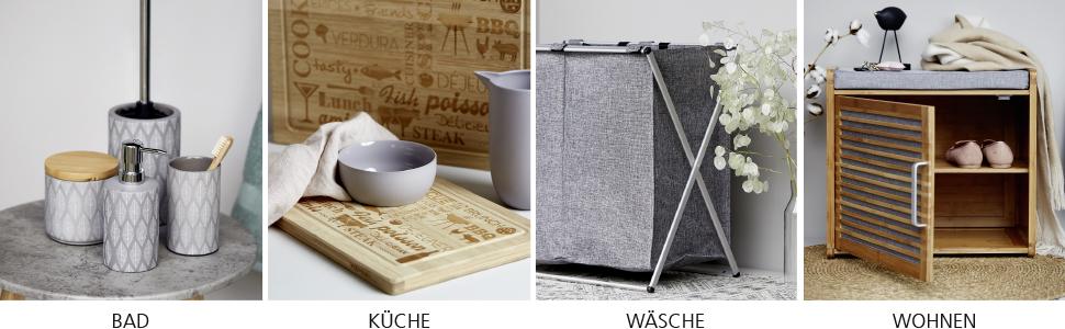 Wenko is expert voor nuttige hulpmiddelen in het huishouden, trendy badkameraccessoires slimme opbergsystemen