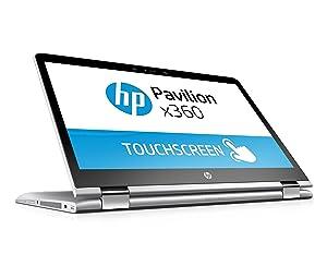 HP Pavilion x360 39,6 cm Laptop silber,QWERTZ: Amazon.de