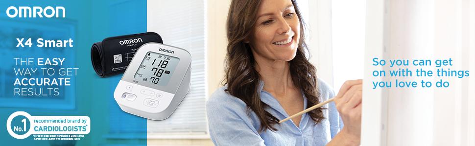 El tensiómetro OMRON X4 Smart simplifica el control de la hipertensión en casa