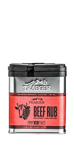 Traeger Grills SPC169 Beef Seasoning and BBQ Rub