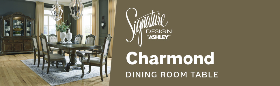Amazon Com Signature Design By Ashley Charmond Dining Room Buffet Brown Buffets Sideboards
