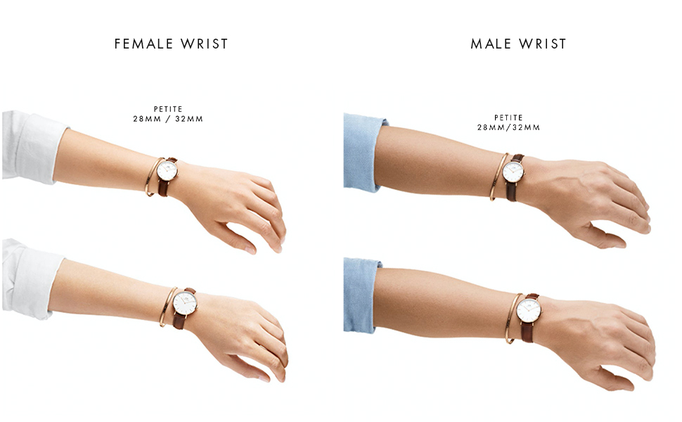DW, daniel wellington petite, sizes
