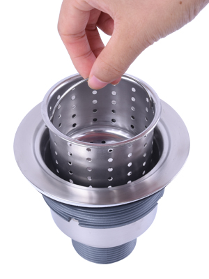 KINJOHI Cocina fregadero colador multifuncional desag/üe filtro fregadero piso desag/üe cubierta Anti-obstrucci/ón