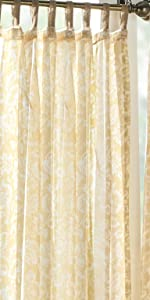 Highland Stripe Indoor Outdoor Curtain Elrene Home Fashions