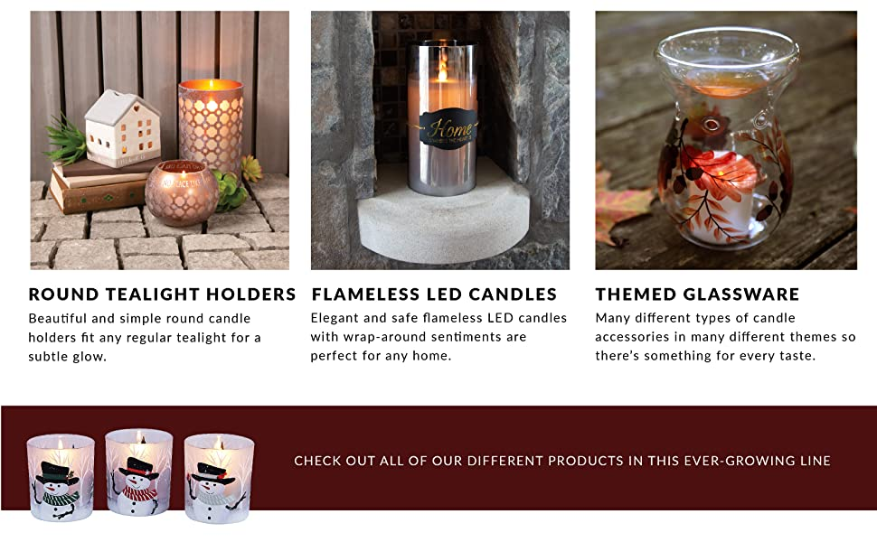 candle; decor; accessories; glass; glassware; LED; flamless candle; fake candle; christmas; anchor