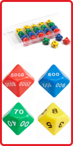 Dice,dice games for kids,dice set,math manipulative for kids,educational toys,educational games
