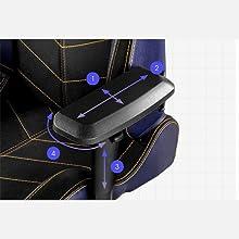 4D Armrests