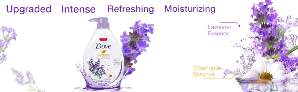 Dove Go Fresh Relaxing Lavender Paraben-Free Body Wash