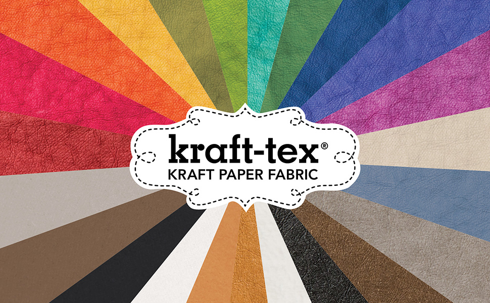 kraft-tex, rainbow, vegan leather