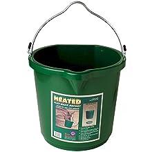 Farm Innovators 5-Gallon Flat-Back Heated Bucket