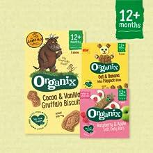 Organix, Organix Goodies, baby snacks, toddler snacks, finger food, healthy snacks,
