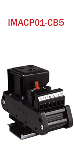 AC Outlet Power Module with Resettable 5 Amp Circuit Breaker