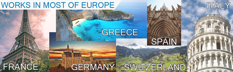 Most of Europe