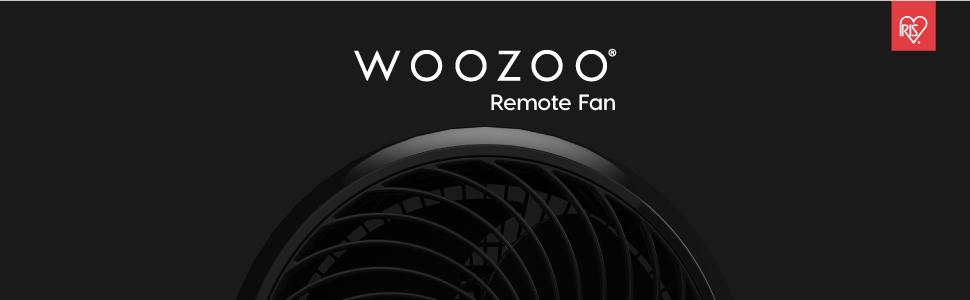desktop portable fan, remote control fan, remote fan, woozoo fan, iris woozoo fan, portable fan