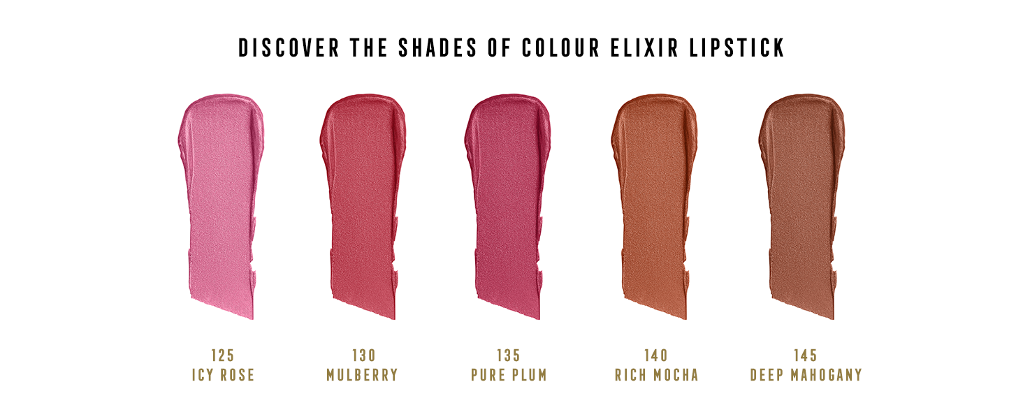 DISCOVER THE SHADES OF COLOUR ELIXIR LIPSTICK