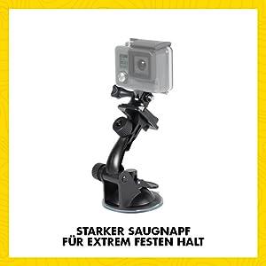 Speedlink Car Mount Für Gopro Zubehör Für Action Cams Kamera