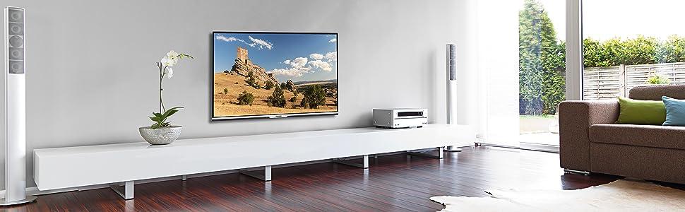 telefunken xu43d101 110 cm 43 zoll fernseher 4k ultra. Black Bedroom Furniture Sets. Home Design Ideas