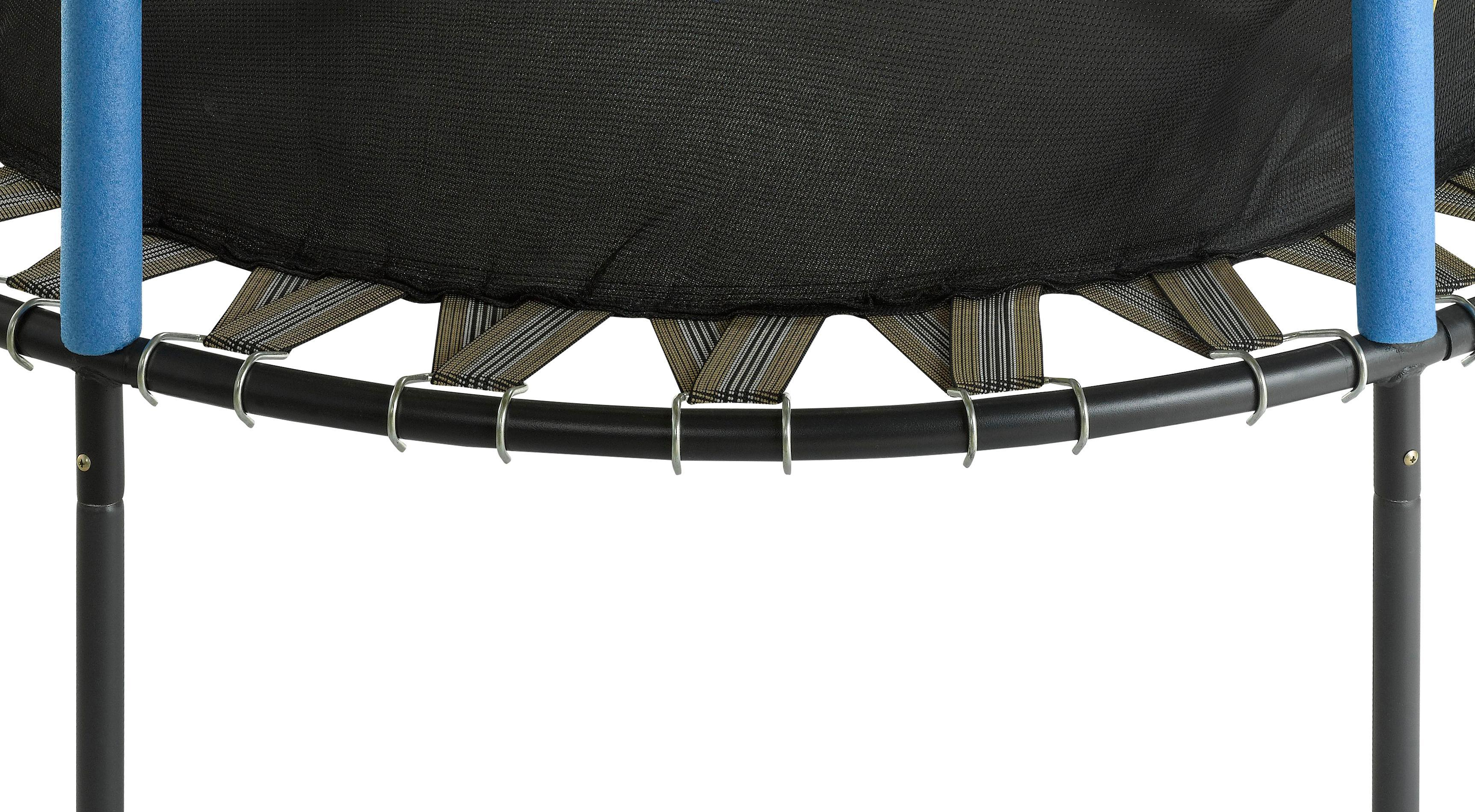 Upper Bounce 55 Inch Kid Friendly Trampoline And Enclosure