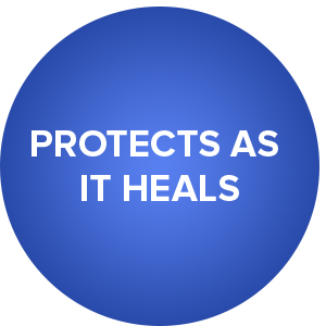 Protects as it Heals
