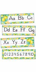 Lemon Zest Traditional Printing Mini Bulletin Board