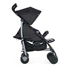 Chicco Echo Stroller Side View reclined