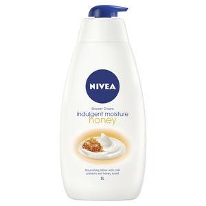 nivea; honey; shower; shower gel; body wash; soap; moisturiser; skincare; skin; honey;