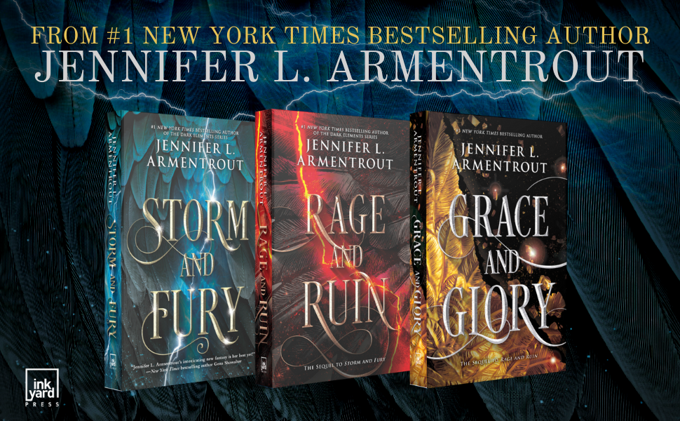 From #1 New York Times Bestselling author Jennifer L. Armentrout. (plus 3 book covers)