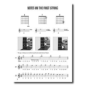 hal leonard guitar method book 1 book only will schmid greg koch 0073999990102 books. Black Bedroom Furniture Sets. Home Design Ideas