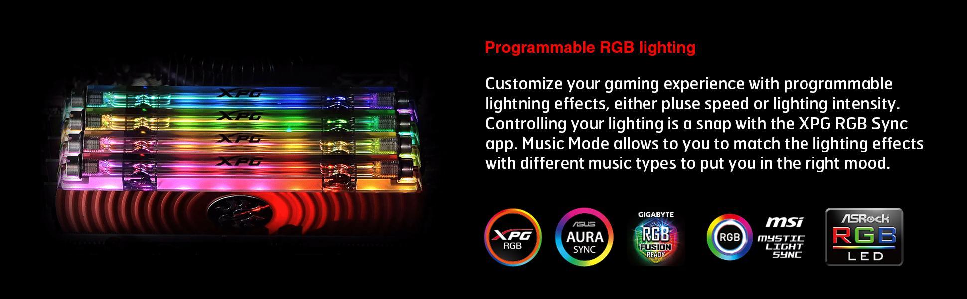 XPG Spectrix D80 Liquid-Cooled RGB DDR4 3600MHz 16GB (2x8GB) 288-Pin
