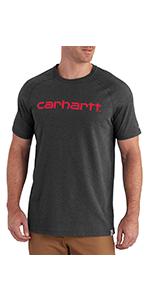 c4f5c94607de Carhartt Men s Force Cotton Delmont Short Sleeve T-shirt