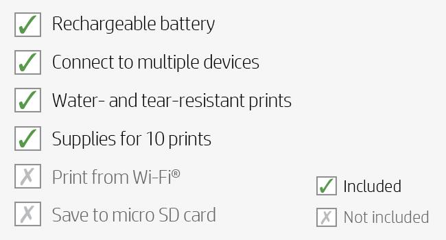 wi-fi printing photo supplies bluetooth
