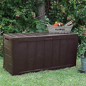 Storage Garden Box Deck Outdoors Outdoor Gardening accessories equipment hobbys toys leisure pets