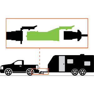 CURT Echo Trailer Brake Controller Installation Step 2 Plug In