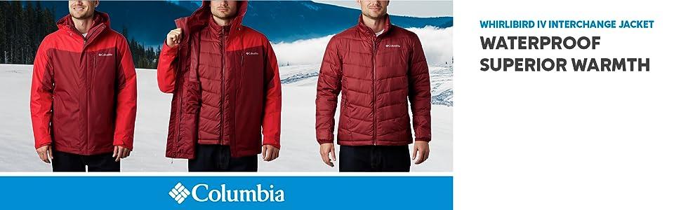 Columbia Men's Whirlibird IV Interchange Winter 3-in-1 Jacket