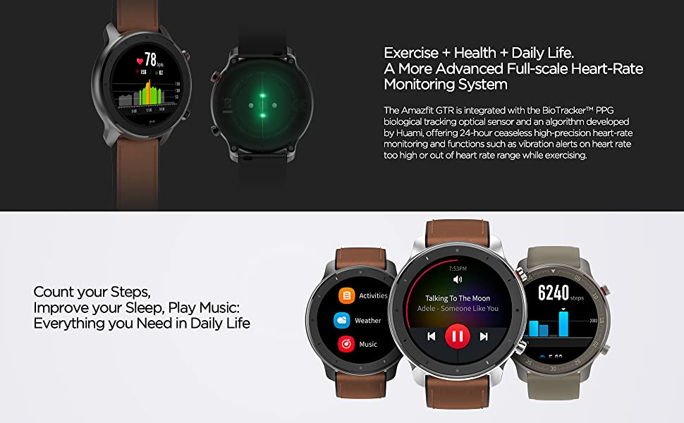 Heart Rate Monitoring Fitness Tracker