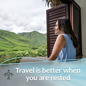 Travel is better when you are rested