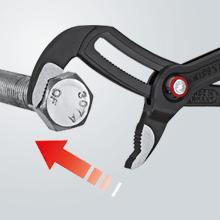 Cobra QuickSet: ajuste rápido en la pieza mediante pulsador.